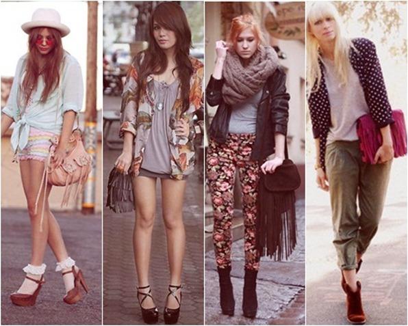 bolsas de franjas - talita fashion girl