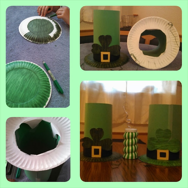 St. Patrick's Day Hat Craft