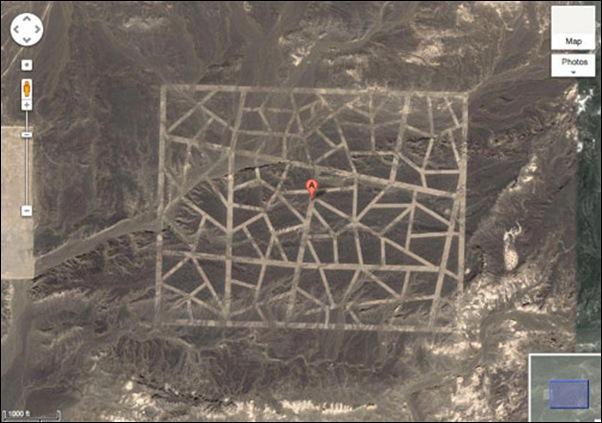 Que construisent les Chinois dans le désert du Gansu