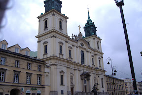 Typical Polish church