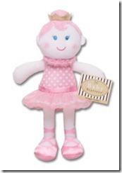 Ballerina-Doll-Snuggle-Buddy