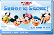 Disney Air Hockey