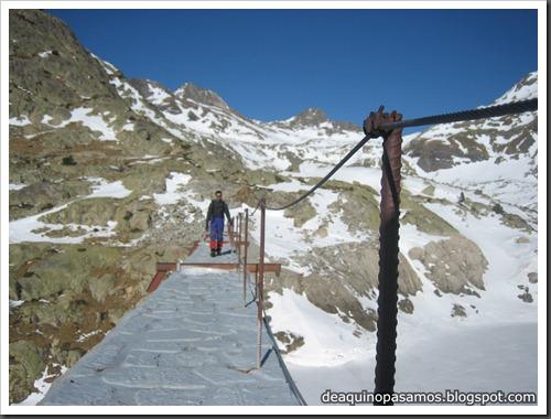 Intento al Corredor Nefropatia 200m D  90º (Pico Piedrafita 2965m, Pirineos) (Fede) 0043