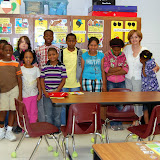 WBFJ Cici's Pizza Pledge - Rural Hall Elementary - Mrs. Bailey's 5th Grade Class - 5-23-12
