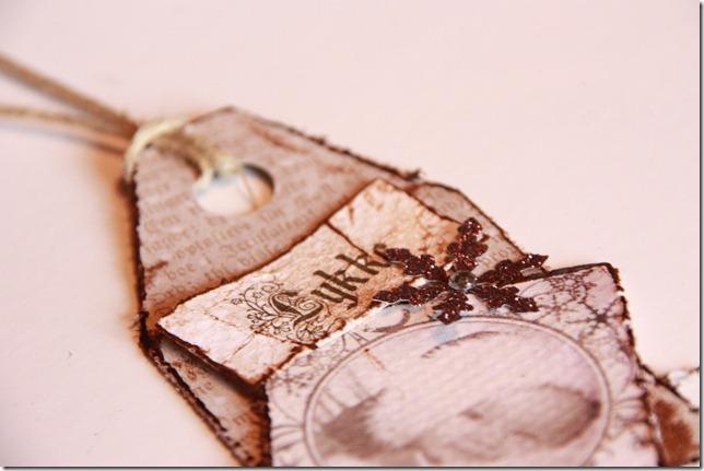 håndlagede merkelapper jul julegaver diy vintage IMG_5584