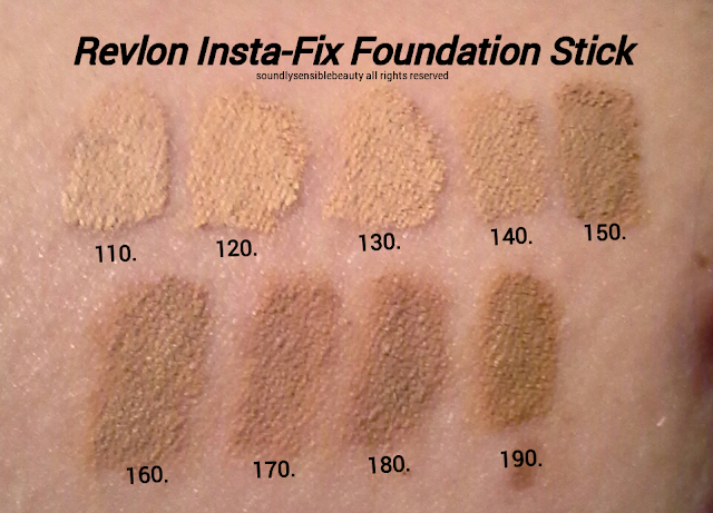 Revlon Instant Fix Multi-Use Makeup & Touch Up Stick; Review & Swatches of Shades