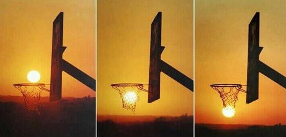 Солнце и баскетбол