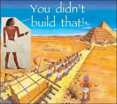 build pyramid