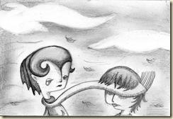 Pasos escondidos de nubes tristes - Mariana