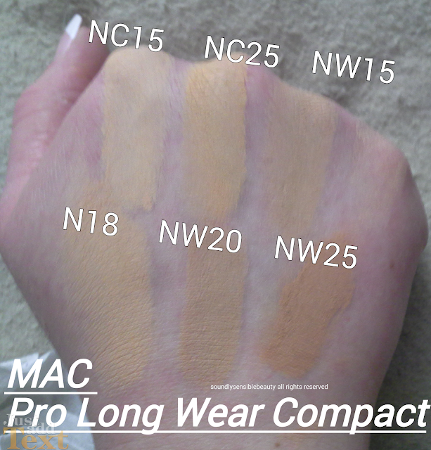 MAC Cream/Mousse Compact Pro Long Wear Foundation SPF 20