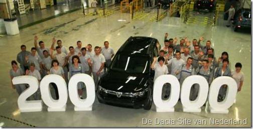 Dacia Duster 200000