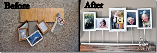 diy flag photo collage frame the hy housewife home management