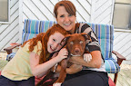 ...And these 3 little red heads lived happily ever after! Atlanta's Animal Action Rescue somehow knew that Chip and this family were meant to find each other! (animalactionrescue.org) Photo Credit: Beth LaBauve