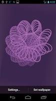 Screenshot of Swirly Live Wallpaper