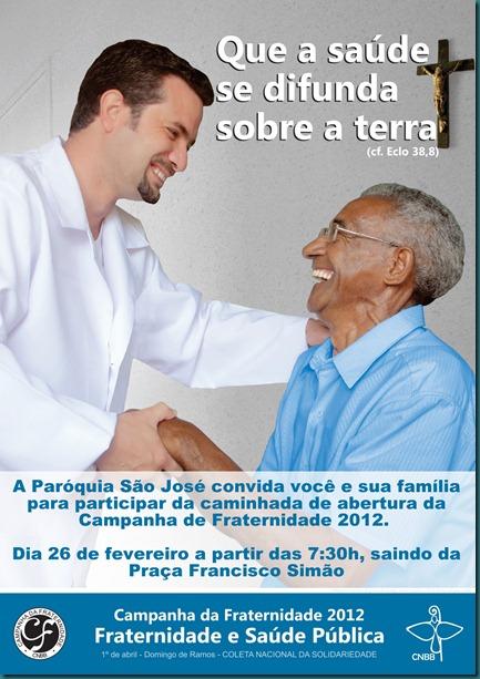 cartaz cf 2012 imagem