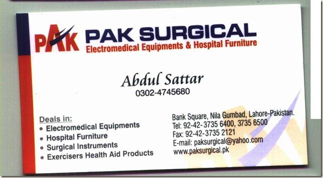 pak surgical