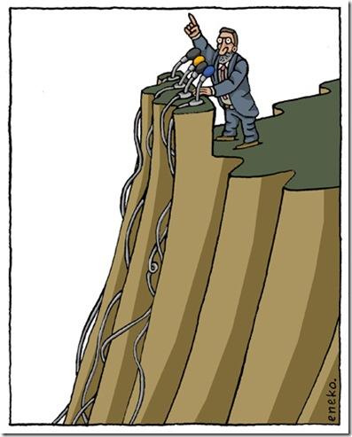 Rajoy y el barranco
