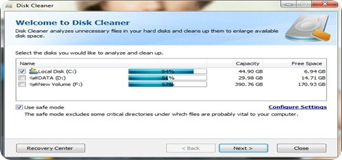 IO Bit Disk Cleaner