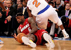 lebron james nba 130301 mia at nyk 16 LeBron Debuts Prism Xs As Miami Heat Win 13th Straight