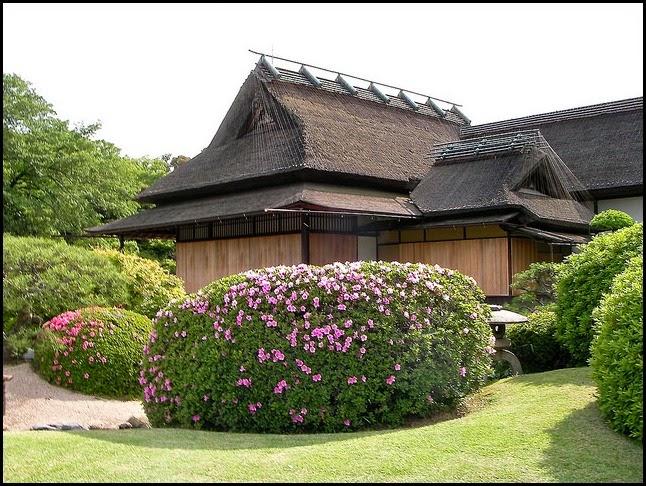 The Korakuen Garden in Okayama, Japan