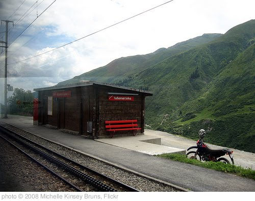 'Tschamut-Selva Train Station' photo (c) 2008, Michelle Kinsey Bruns - license: http://creativecommons.org/licenses/by-sa/2.0/