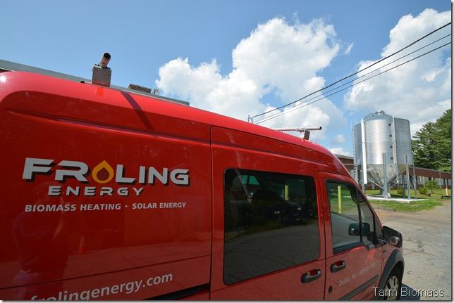 Froling P4 Pellet Froling Energy Truck