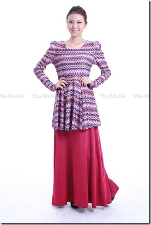 peplum tribal lightpurple