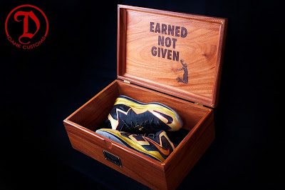 nike lebron 10 cs championship by dank 1 05 LeBron X PS Elite Championship for King James by Dank Customs