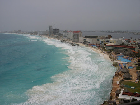 Vacanta Mexic: vedere panoramica Cancun