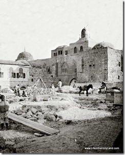 Tomb of David, exterior, mat00855-001
