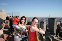 On top of Rockefeller Center