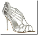 Dune Harlow Diamante Sandals