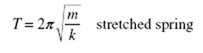 Simple Harmonic Motion equations8-43-10 PM