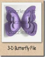 3d butterfly-200
