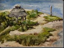 Old Gazebo. Rehoboth Beach 6x8_3