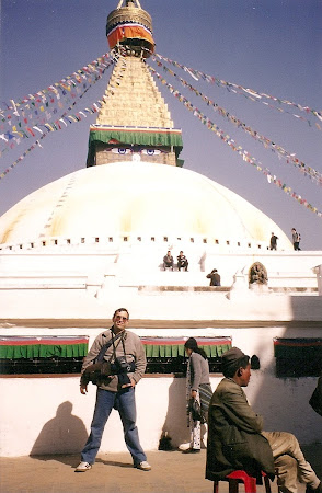 Things to do in Nepal: Visit the stupa from Boudhanath