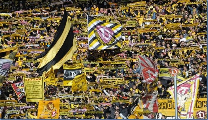 Dynamo Dresden fans