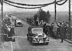 """Einweihung der neuen Straße Osterholz-Scharmbeck-Moorhausen und der Hammebrücke; aus J. Segelken """"Heimatbuch"""", 1938"""