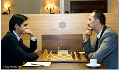 Anish Giri vs Topalov Veselin, round 11, FIDE GP London 2012