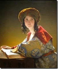 Friedrich-Von-Amerling-The-Young-Eastern-Woman