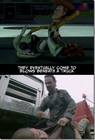 Walking Dead v Toy Story 6