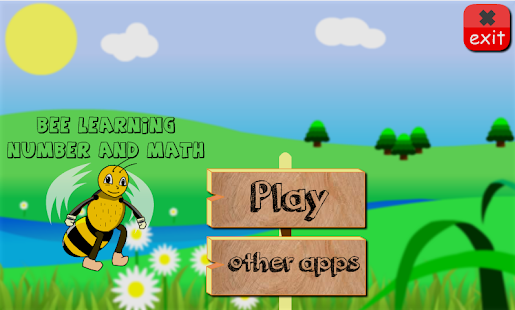 Bee Learning Number And Math- screenshot