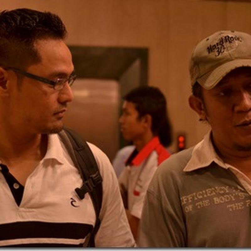 Salah seorang blogger lelaki di final MasterChef Malaysia