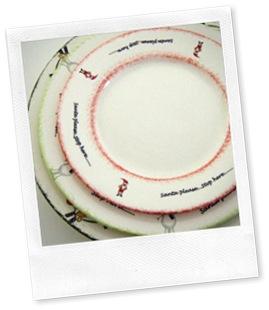 CAPRI DINNER SET X 3 PLATES FUNKY DESIGNS