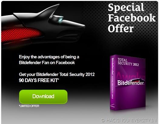 Bitdefender Total Security 2012 Free Key