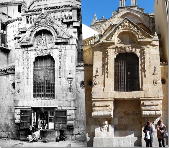 Plaza del Corrillo Salamanca antigua