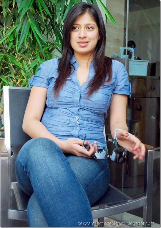 lakshmi_rai_tight_jeans_and_shirt_stills_11