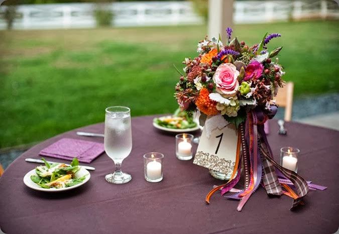 bouquets as centerpieces 29791_118280488197294_2239300_n pat's floral designs