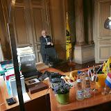 Unieke ontvangst door Jan Peumans, Kris Peeters en Lode Ceyssens in het Vlaams parlement!