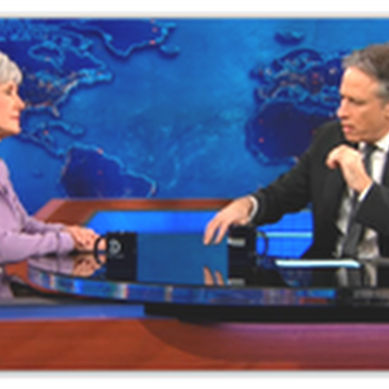 "Jon Stewart Talks Affordable Care Plan And Exchanges With HHS Secretary Sebelius –"" It's Still Not Affordable Yet"""